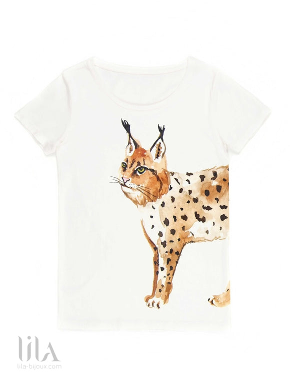 T-Shirt Lynx Adulte By Nach Vêtements
