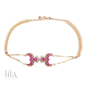 Headband Sophia Rose By Lila Bijoux