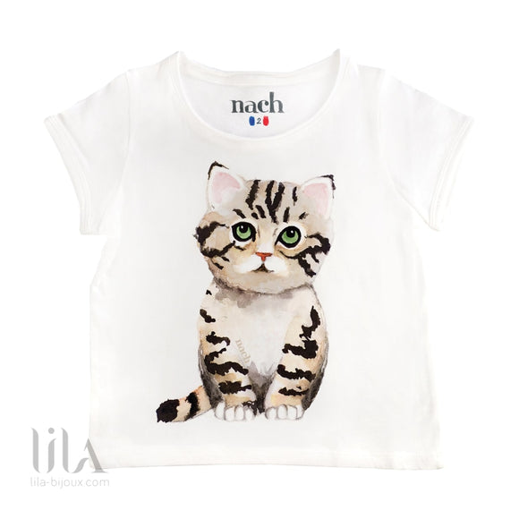 T-Shirt Chat Enfant T-Shirts