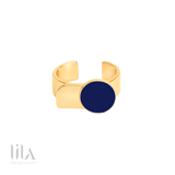Bague Arty Bleu Nuit By Bangle Up Bijoux