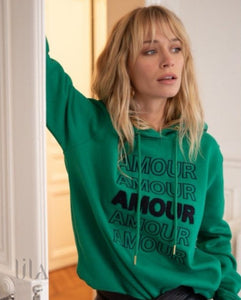 Sweat Mara Amour By Opullence Paris Vert Vêtements