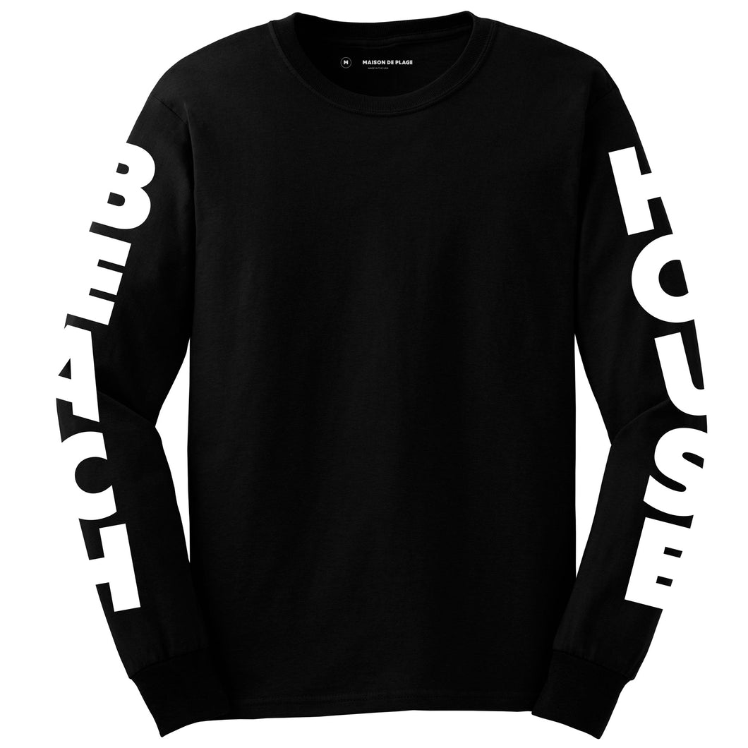 7 Black Long Sleeve