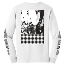 Load image into Gallery viewer, 7 Op Art White Long Sleeve
