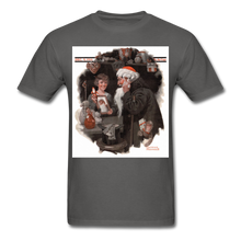 Load image into Gallery viewer, Playing Santa, Men's T-Shirt - charcoal
