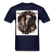 Load image into Gallery viewer, Playing Santa, Men's T-Shirt - navy