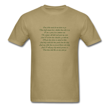 Load image into Gallery viewer, Titania, Unisex T-Shirt - khaki
