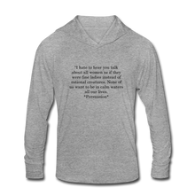 Load image into Gallery viewer, Rational Women, Unisex Tri-Blend Hoodie Shirt - heather gray