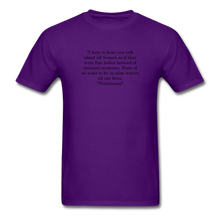 Load image into Gallery viewer, Rational Women, Unisex Classic T-Shirt - purple