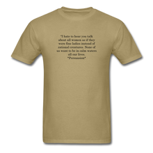 Load image into Gallery viewer, Rational Women, Unisex Classic T-Shirt - khaki