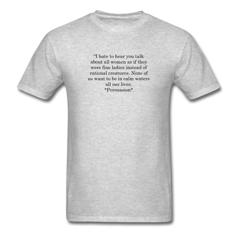 Rational Women, Unisex Classic T-Shirt - heather gray