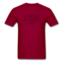 Load image into Gallery viewer, Rational Women, Unisex Classic T-Shirt - dark red