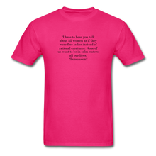 Load image into Gallery viewer, Rational Women, Unisex Classic T-Shirt - fuchsia