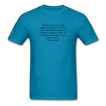 Load image into Gallery viewer, Rational Women, Unisex Classic T-Shirt - turquoise