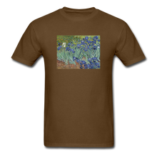 Load image into Gallery viewer, Irises, Unisex Classic T-Shirt - brown