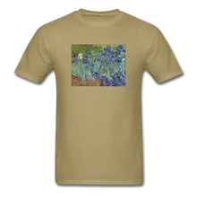 Load image into Gallery viewer, Irises, Unisex Classic T-Shirt - khaki