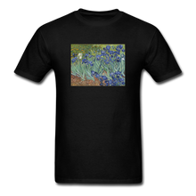 Load image into Gallery viewer, Irises, Unisex Classic T-Shirt - black
