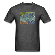 Load image into Gallery viewer, Irises, Unisex Classic T-Shirt - heather black