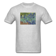 Load image into Gallery viewer, Irises, Unisex Classic T-Shirt - heather gray