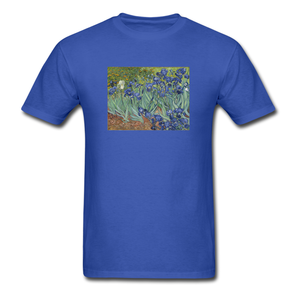 Irises, Unisex Classic T-Shirt - royal blue