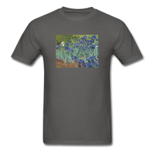 Load image into Gallery viewer, Irises, Unisex Classic T-Shirt - charcoal