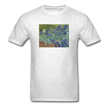 Load image into Gallery viewer, Irises, Unisex Classic T-Shirt - light heather gray