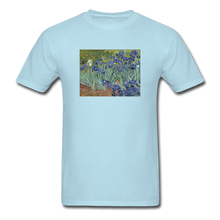 Load image into Gallery viewer, Irises, Unisex Classic T-Shirt - powder blue