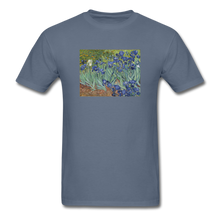 Load image into Gallery viewer, Irises, Unisex Classic T-Shirt - denim