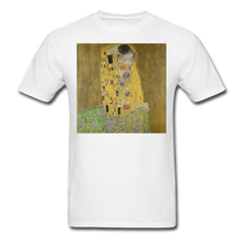 Load image into Gallery viewer, Klimt's The Kiss, Unisex Classic T-Shirt - white