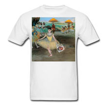 Load image into Gallery viewer, Dancer Bowing with Bouquet, Unisex Classic T-Shirt - white