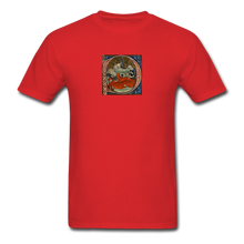 Load image into Gallery viewer, Exhausted Nativity, Men's T-Shirt - red