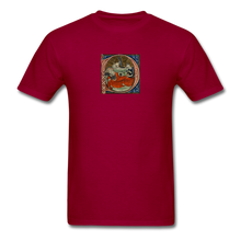 Load image into Gallery viewer, Exhausted Nativity, Men's T-Shirt - dark red