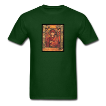 Load image into Gallery viewer, Madonna and Child, Men's T-Shirt - forest green