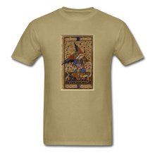 Load image into Gallery viewer, Rainbow Winged Angel, Unisex Classic T-Shirt - khaki