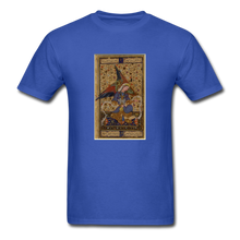 Load image into Gallery viewer, Rainbow Winged Angel, Unisex Classic T-Shirt - royal blue
