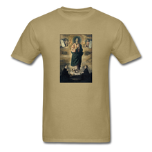 Load image into Gallery viewer, Immaculate Conception, Unisex T-Shirt - khaki