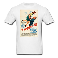 Load image into Gallery viewer, It's a Wonderful Life Poster, Unisex T-Shirt - white
