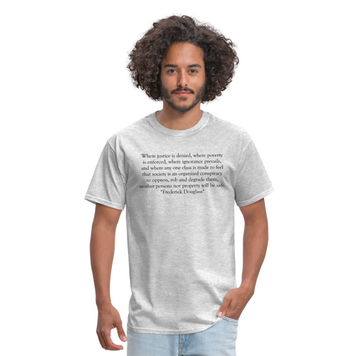 Justice Denied, Men's T-Shirt - heather gray