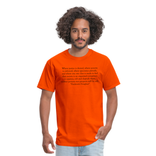 Load image into Gallery viewer, Justice Denied, Men's T-Shirt - orange