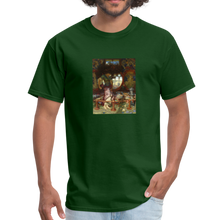 Load image into Gallery viewer, The Lady of Shallott, Unisex Classic T-Shirt - forest green