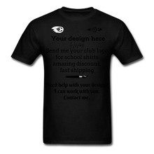 Load image into Gallery viewer, School Club Shirt, Unisex Classic T-Shirt - black