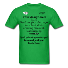 Load image into Gallery viewer, School Club Shirt, Unisex Classic T-Shirt - bright green