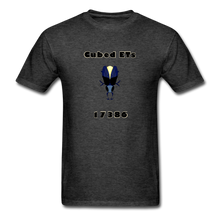Load image into Gallery viewer, Cubed ETS SUPPORTER, Unisex Classic T-Shirt - heather black