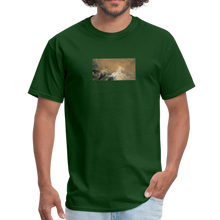 Load image into Gallery viewer, Tiger Against Dragon, Unisex Classic T-Shirt - forest green