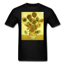 Load image into Gallery viewer, Sunflowers - Unisex Classic T-Shirt - black