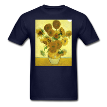 Load image into Gallery viewer, Sunflowers - Unisex Classic T-Shirt - navy