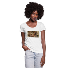 Load image into Gallery viewer, Attitude in a Parade - Women's Scoop Neck T-Shirt - white