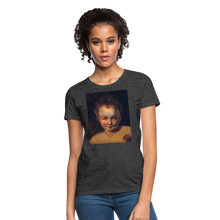 Load image into Gallery viewer, Puck Women's T-Shirt - heather black