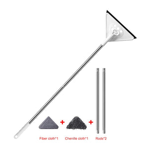 360 Degree Rotatable Adjustable Triangle Cleaning Mop