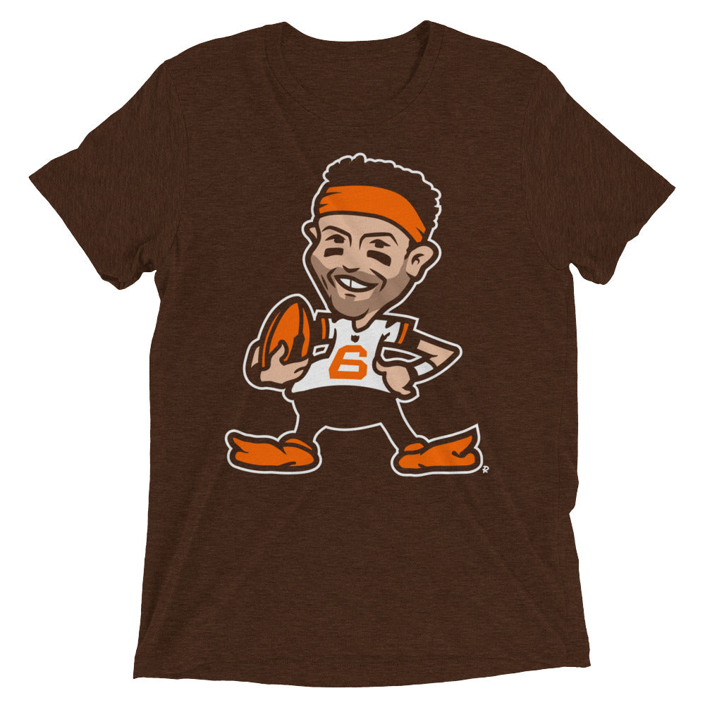 Baker Throwback - Brown Tri-blend