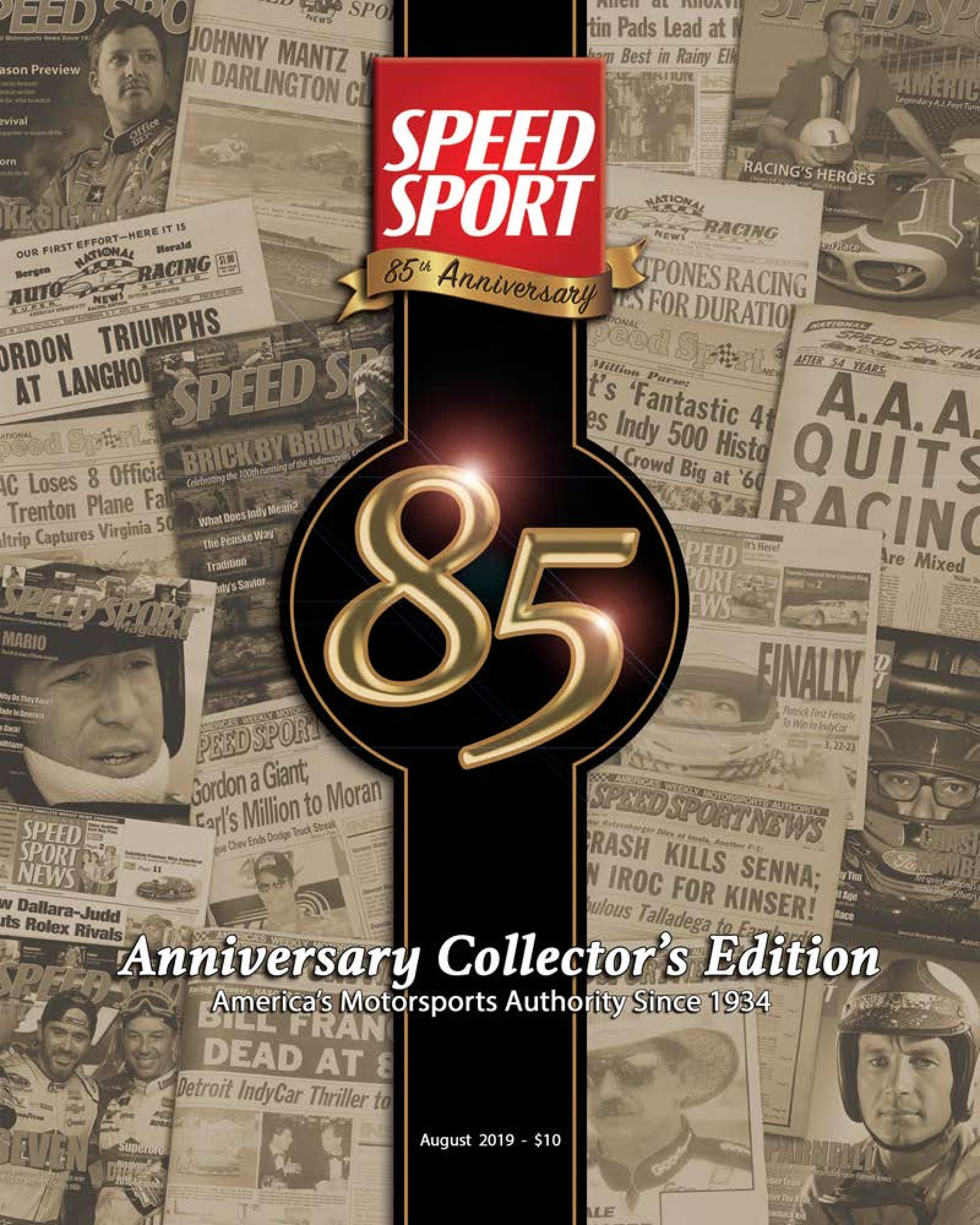85th Anniversary Edition-August 2019